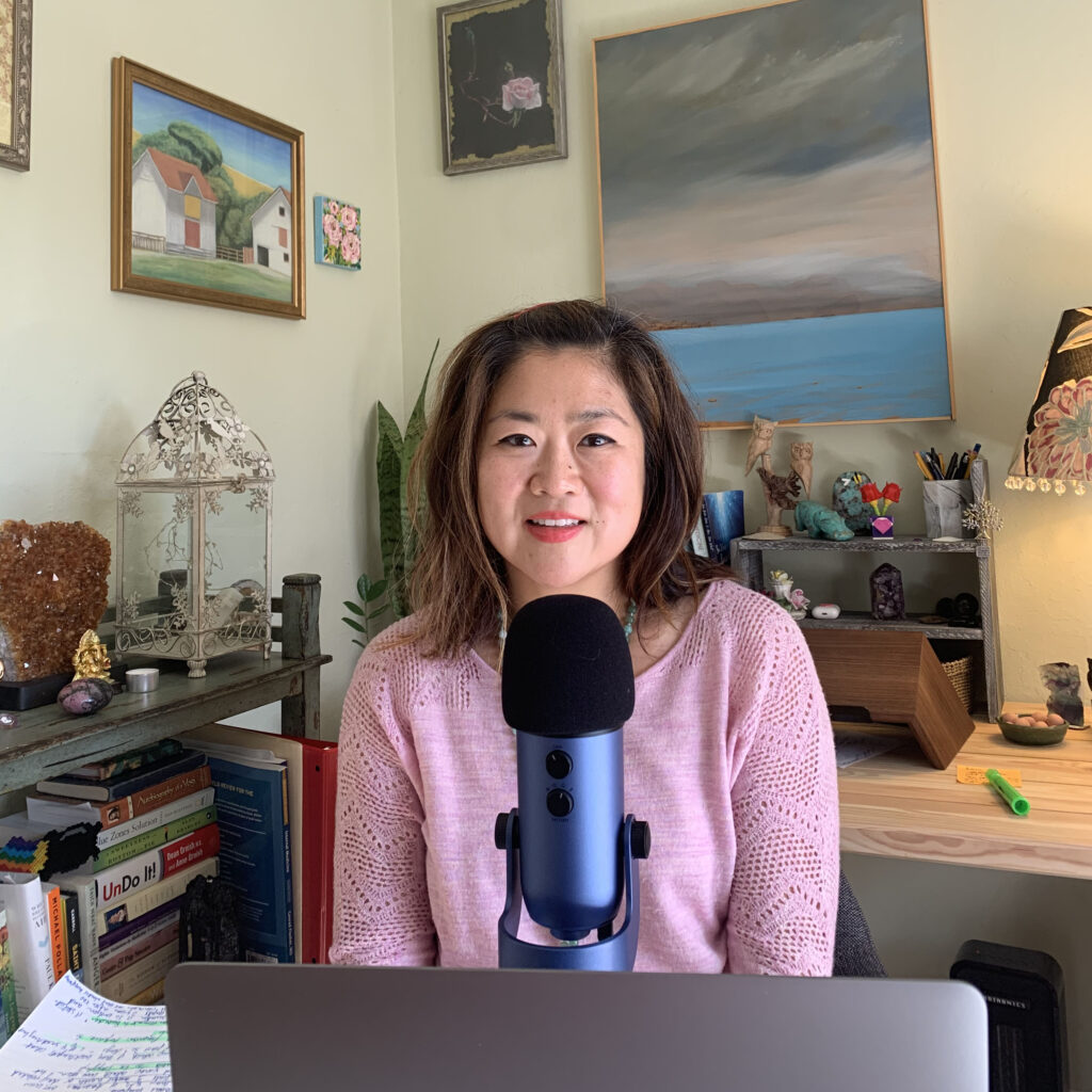 Podcaster Michelle Choi